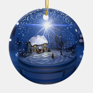 Starlight Globe Christmas Ornament