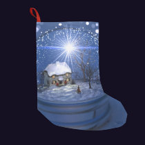 Starlight Globe Christmas Stocking