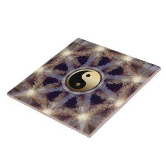Art Deco black gold geometry throw blanket by Webgrrl