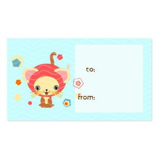 starlight kitten business card
