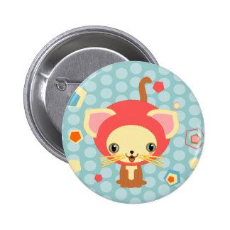 starlight kitten 2 inch round button