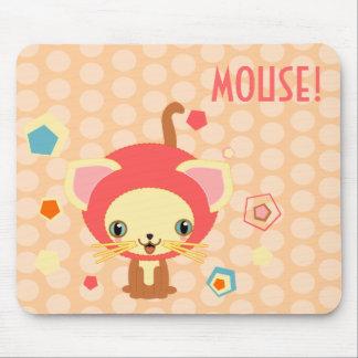 starlight kitten mousepad