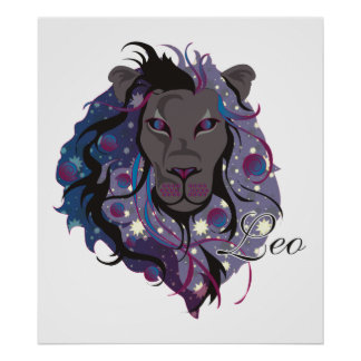 Starlight Leo Print