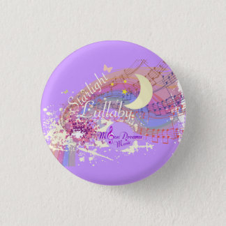 Starlight Lullaby Colorsplash Round Magnet Button
