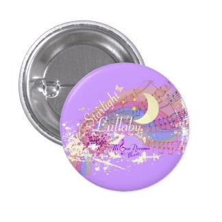 Starlight Lullaby Colorsplash Round Magnet 1 Inch Round Button