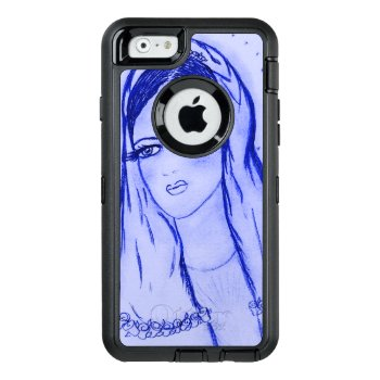 Starlight Mary - Blue - Otterbox Defender Iphone Case by BlayzeInk at Zazzle