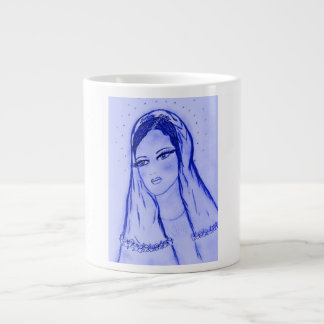 Starlight Mary in Blue Giant Coffee Mug