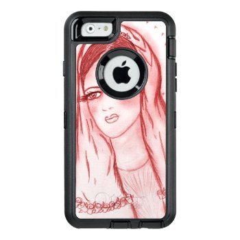 Starlight Mary - Red Otterbox Defender Iphone Case by BlayzeInk at Zazzle