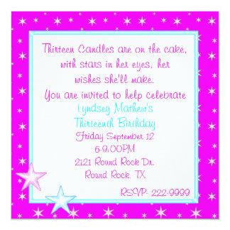Starlight Party Invitation