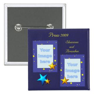 Starlight  Prom Photo Button