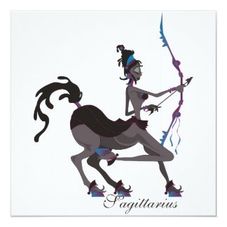 Starlight Sagittarius Invitations