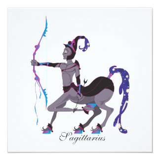 Starlight Sagittarius (Male) Invitations