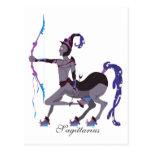 Starlight Sagittarius (Male) Postcards