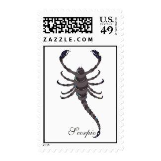 Starlight Scorpio Postage Stamp