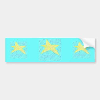 Starlight Starbright by Wendy C. Allen Bumper Sticker