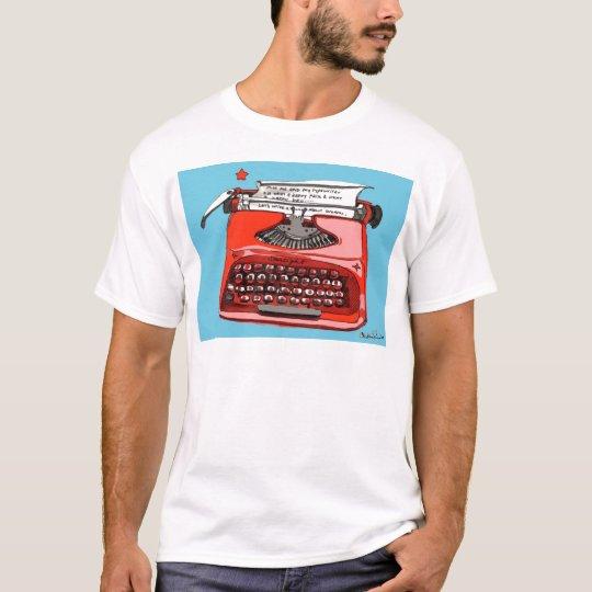 Starlight Starfire Typewriter T-Shirt