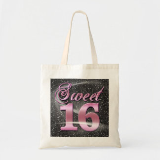 Starlight Sweet 16 Tote Bags