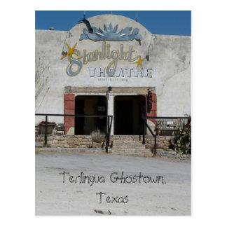 Starlight Theatre/Terlingua, Texas Postcard