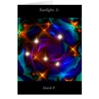 Starlights #1c (card) greeting card
