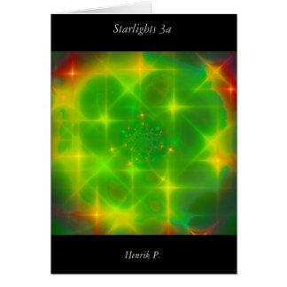 Starlights #3a (card) greeting card