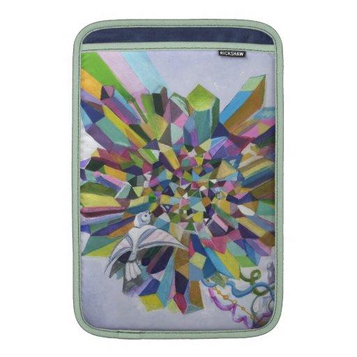 Starlike Love- Crystal Heart Rickshaw sleeve Sleeves For MacBook Air