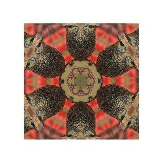 Starling Bonanza Wood Print