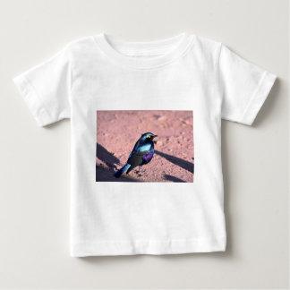 Starling brillante Azul-Espigado Poleras