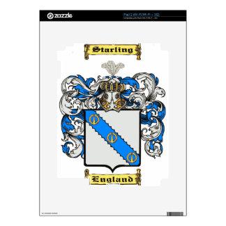 Starling Calcomanías Para El iPad 2