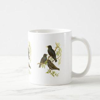 Starling Classic White Coffee Mug