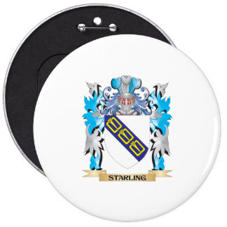 Starling Coat of Arms - Family Crest Pins