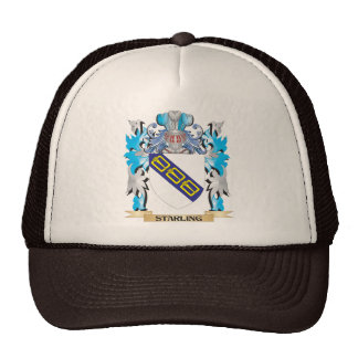 Starling Coat of Arms - Family Crest Trucker Hat