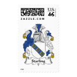 Starling Family Crest Stamp
