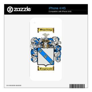 Starling iPhone 4S Calcomanías