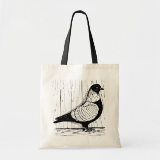 Starling Pigeon Silver-laced 1979 Tote Bag
