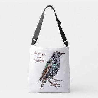 Starlings Are Darlings Crossbody Bag