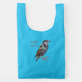 Starlings Are Darlings Reusable Bag