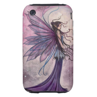 Starlit Amethyst Fairy Mystical Fantasy Art Tough iPhone 3 Cover