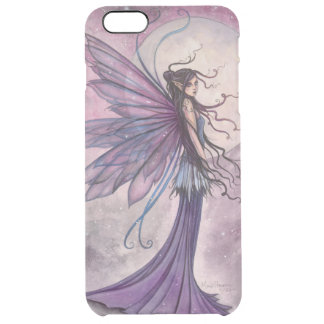 Starlit Amethyst Purple Fairy Fantasy Art Clear iPhone 6 Plus Case