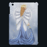 "Starlit Angel iPad Mini Case<br><div class=""desc"">This beautiful original angel artwork by digital artist Tori Beveridge, is sure to please all believers in angels and anyone who needs a guardian angel. Heavenly angels walk among us. Believe. This artwork was done digitally using the programs, Poser and Photoshop and utilized various purchased commercial resources which have been...</div>"