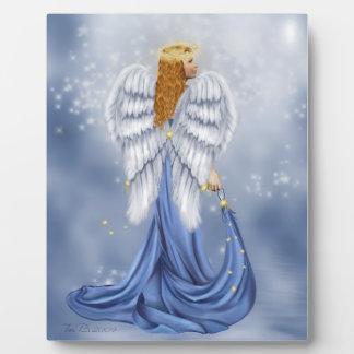 Starlit Angel Plaque