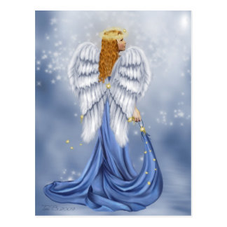 Starlit Angel Postcard
