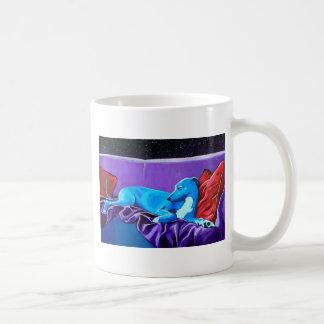 'Starlit lurcher' Coffee Mug