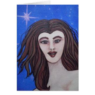 Starlit Nymph Card
