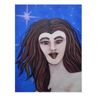 Starlit Nymph Postcard