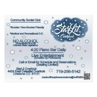 StarLit Postcard setup