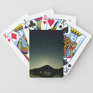 Starlit Sky Bicycle Playing Cards