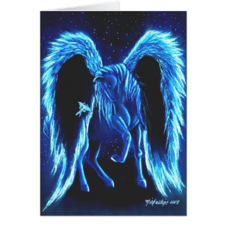 Starlit Stroll Pegasus Card