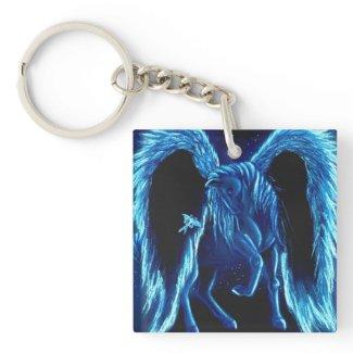 Starlit Stroll Pegasus Keychain