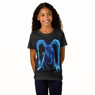 Starlit Stroll Pegasus Kid's T-shirt