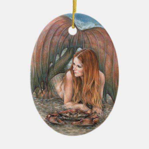 Starlit Tides - Cancer Ornament